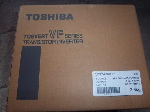 Toshiba Vfs7-4007upl Tosvert Transistor Inverter Drive, Ships Today!  Warranty.