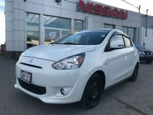 2015 Mitsubishi Mirage SE    $76 BI WEEKLY Great fuel economy at