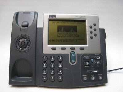 Cisco Unified Business Ip Phone 7960 Cp-7960g Voip Business Phone