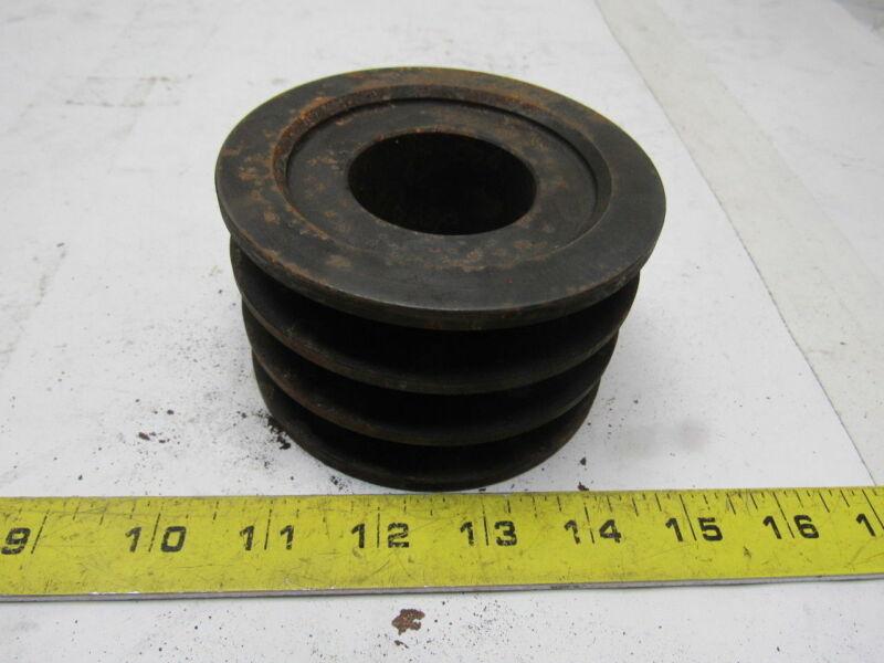 Martin 3B 38 SH 3 Groove V-Belt Pulley Sheave Bushed Bore
