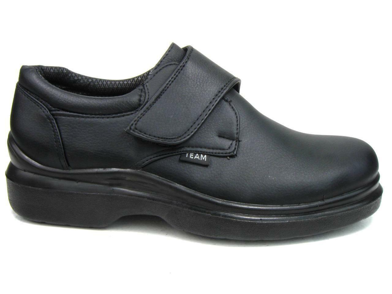 Men's Kitchen Non-slip Working Skid Resistance Synthetic Shoes Black 1