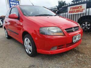 2007 Holden Barina TK MY07 Red 4 Speed Automatic Hatchback Morphett Vale Morphett Vale Area Preview