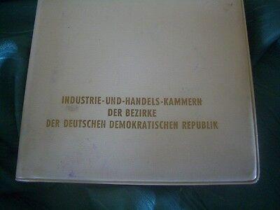 DDR Kalender /  Industrie -und- Handels -Kammer der Bezirke der DDR 1960/selten