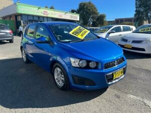 2016 Holden Barina TM MY16 CD Blue 6 Speed Automatic Hatchback Lidcombe Auburn Area Preview