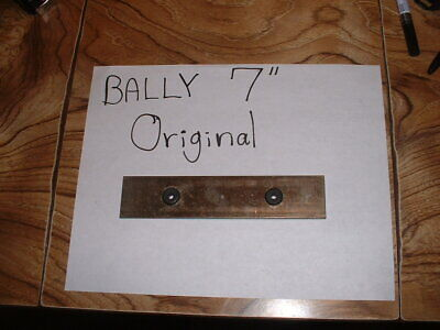 """Bally 7"""" Original Steel Chime Bar with grommets  -  pinball parts"""