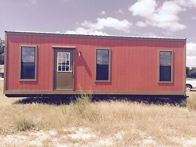 New Mobile Modular Camp House With Kitchen And Bathroom 9'X 30'