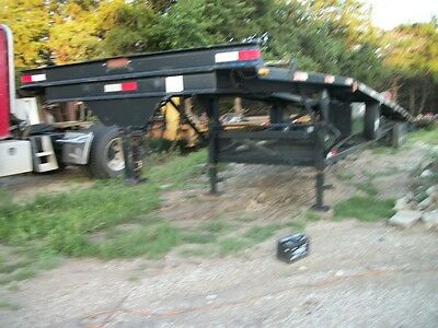 2000 50 ft ramp wedge 3 triple axle car hauler trailer 3 ft extensions each end