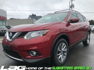 2015 Nissan Rogue AWD SL Leather Interior! Navigation!