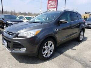 2015 Ford Escape Titanium NAVIGATION !!  HEATED LEATHER !!  A...