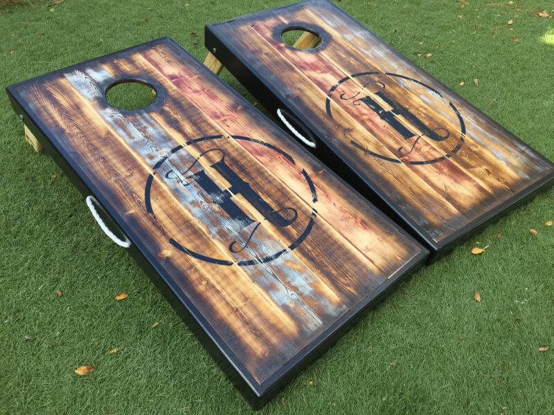 Barnwood Design Custom Cornhole Board Set