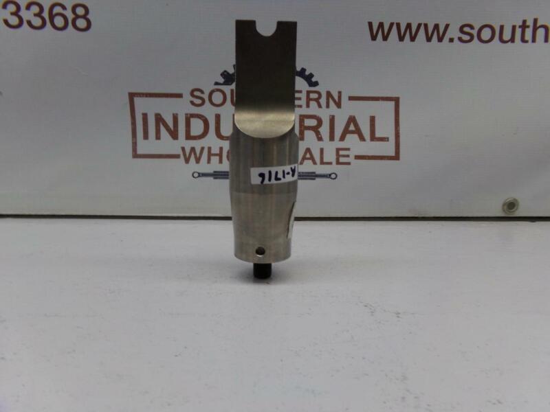 Branson Rectangular (Square Corners) Ultrasonic Welder Horn  ½,Thread