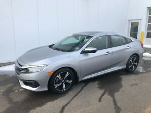 2017 Honda Civic Sedan Touring Like New low kms and protected ti