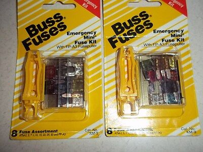 2 Atm Buss Fuse Kits With Atm 257 121015202530 Km-9