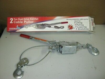 American Power Pull 2 - Ton Dual Drive Ratchet Cable Puller