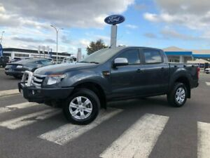 2014 Ford Ranger PX XLS Double Cab Grey 6 Speed Manual Utility Kilmore Mitchell Area Preview