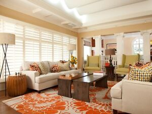California shutters and other window coverings