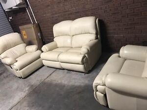 Genuine bovine leather sofas only $750 Gwelup Stirling Area Preview