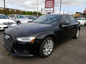 2014 Audi A4 2.0 Komfort ONE OWNER !!  HEATED LEATHER !!