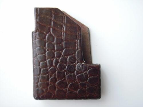Leather lighter case, Dupont ?
