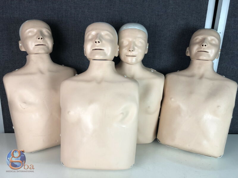 Laerdal Set of 4 Little Anne Adult CPR Training First Aid Manikin