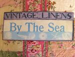 Vintage Linens By The Sea