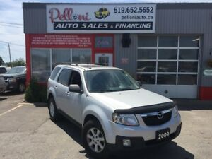 2009 Mazda Tribute GT V6 4X4 LEATHER + SUNROOF