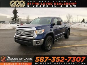 2015 Toyota Tundra Limited / Back Up Camera / Heated leather sea
