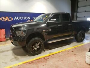 2015 RAM 1500 ST UPGRADED LIFT, UPGRADED EXHAUST, 4x4!!!