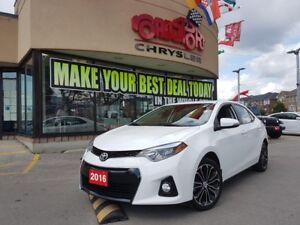 2016 Toyota Corolla S PWR SUNROOF REAR CAM H-TED SEAT