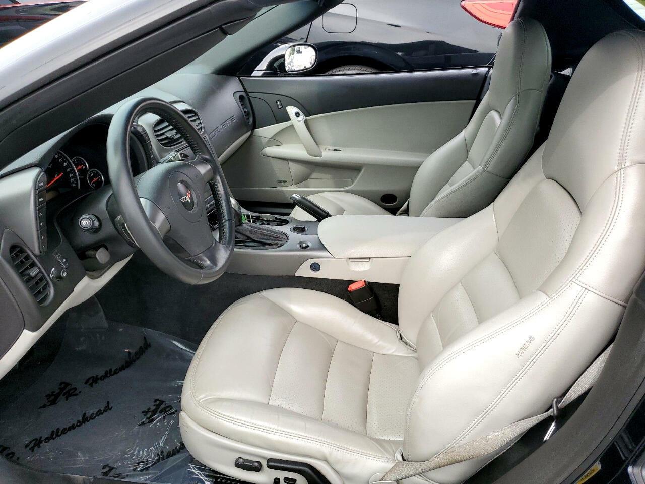 2006 Black Chevrolet Corvette Convertible  | C6 Corvette Photo 7