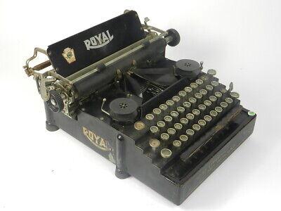 MAQUINA DE ESCRIBIR ROYAL Nº5 AÑO 1917 TYPEWRITER SCRHEIBMASCNINE
