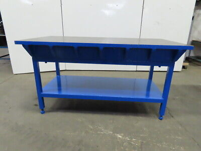 1-12 Thick Webbed Cast Iron Lay Outjigweldingwork Table Bench 72x36x38