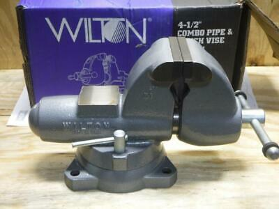 New Wilton 28826 C-1 4-12 Combination Pipe Bench Vise Vice Fast Ship