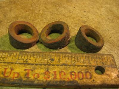 3 Graham Bradley Tractor Rear Wheel Weight Bolt Spacers