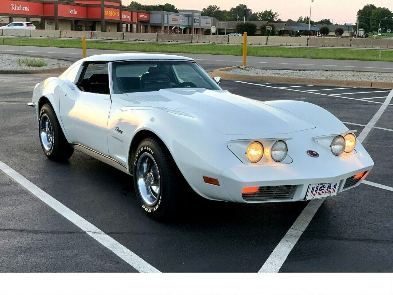 1973 White Chevrolet Corvette   | C3 Corvette Photo 1