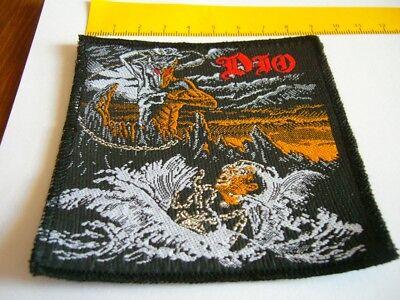 DIO – very rare old original 80's HOLY DIVER Patch!!!