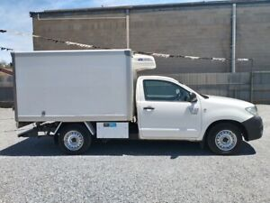 2009 TOYOTA HILUX WORKMATE REGRIGERATED UTE COOL ROOM  $12,990 Klemzig Port Adelaide Area Preview