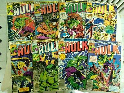 The Incredible Hulk comic book lot 1(Marvel,1980s) Classic Hulk! - 1980s Incredible Hulk
