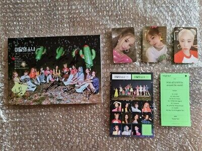 Loona Promo Midnight Album Autographed Hand Signed