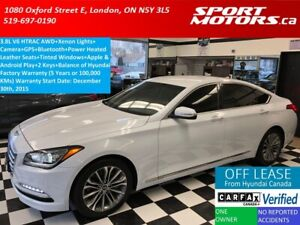2015 Hyundai Genesis Premium AWD+Xenons+GPS+Camera+Apple Play+XM
