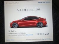 Miniature 17 Coche Americano usado Tesla Model S 2017