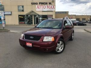 2006 Ford Freestyle Limited, 6 Passenger, DVD, Sunroof, Leather