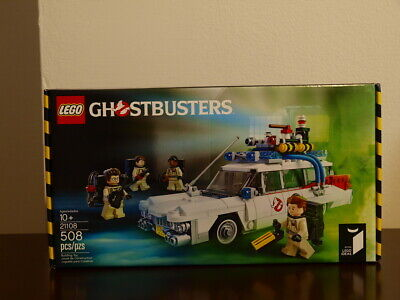 Brand NEW LEGO Ideas Ghostbusters Ecto-1 21108  US Seller