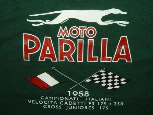 Moto Parilla Green Pocket T Extra Large