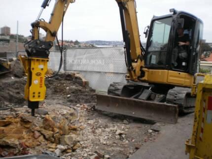 Korean Hydraulic Rock Breaker to suit up to 4.5-ton Excavators