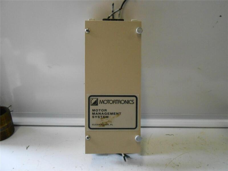MOTORTRONICS MOTOR MANAGEMENT SYSTEM LC2-1-N, LC21N