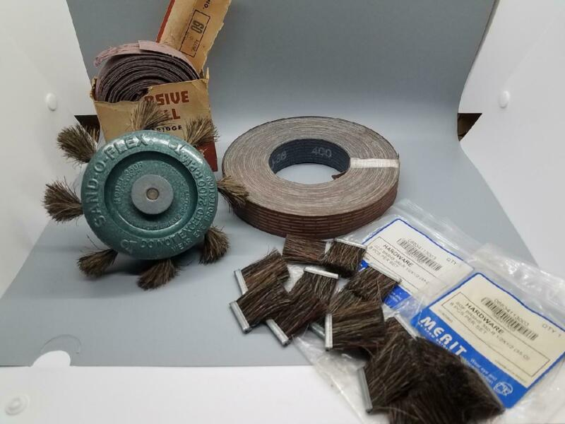 MERIT SAND-O-FLEX MODEL 350 R With Many Extra Accessories LOT