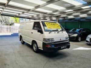 2005 Mitsubishi Express SJ M05 SWB White 5 Speed Manual Van