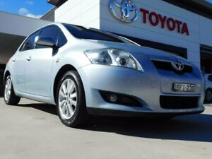 2008 Toyota Corolla ZRE152R Conquest Blue 4 Speed Automatic Hatchback Greenway Tuggeranong Preview