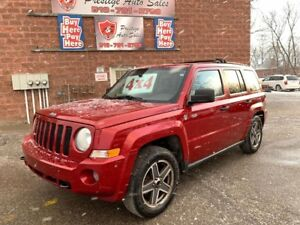 2009 Jeep Patriot 4X4/NO ACCIDENT/CERTIFIED/WARRANTY INCLUDED